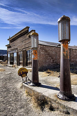 Photograph - Old West Gas Station by Jason Abando