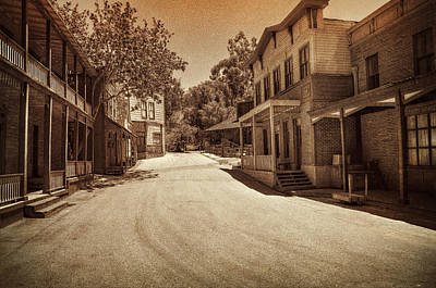 Photograph - Old West by Ricky Barnard