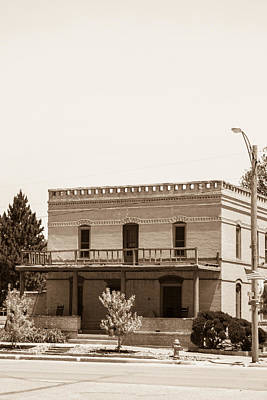 Photograph - Old West Salon by Dawn Romine