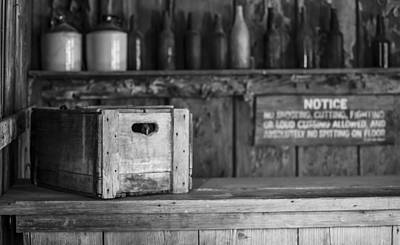Photograph - Old West Saloon by Amber Kresge