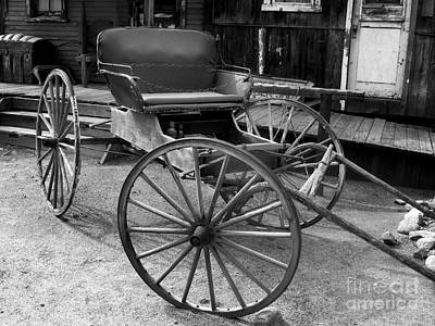 Old West Photograph - Old West Wagon by David Millenheft