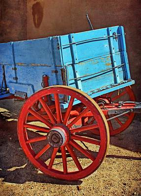Historic Site Photograph - Old West Wagon by Nikolyn McDonald
