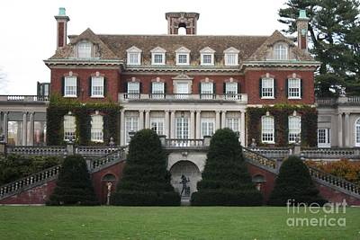 Photograph - Old Westbury Gardens Rear Entrance by John Telfer