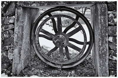 Photograph - Old Wheel by Jean-Noel Nicolas