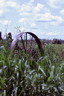 Photograph - Old Wheel  by Joann Copeland-Paul