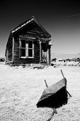 Old West Photograph - Old Wheelbarrow by Cat Connor