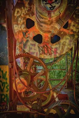 Photograph - Old Winch Baton Rouge La Dsc04245 by Greg Kluempers