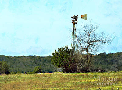 Photograph - Old Windmill by Linda Cox