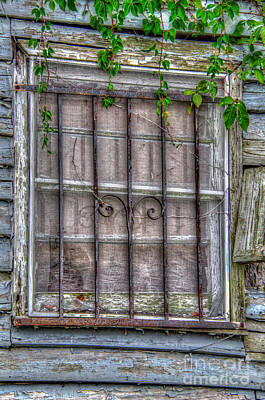 Photograph - Old Window by Dale Powell