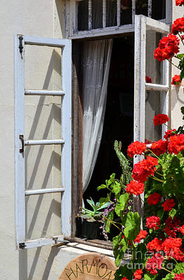 Art Print featuring the photograph Old Window by Debby Pueschel