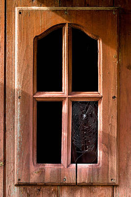 Photograph - Old Window by Edgar Laureano
