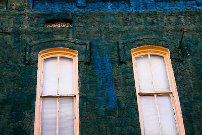 Photograph - Old Windows by Audreen Gieger