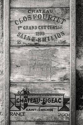 Old Wine Crates Art Print