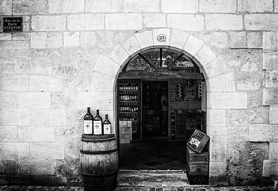 Tasting Photograph - Old Wine Shop by Georgia Fowler