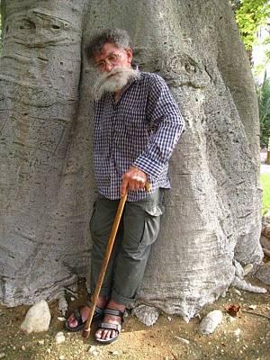Old Wise Man Original by Evan Kleiman