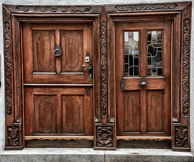 Photograph - Old Wodden Door II by Patrick Boening