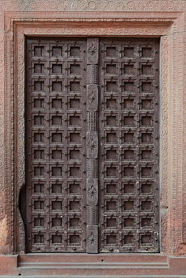 Photograph - Old Wooden Door by Brandon Bourdages
