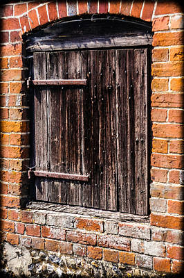 Outerspace Patenets Rights Managed Images - Old Wooden Door Royalty-Free Image by Mark Llewellyn