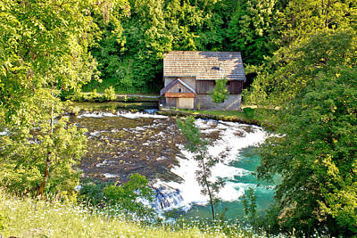 Photograph - Old Wooden Mill On Slunjcica River by Brch Photography