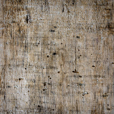 Wood Plank Flooring Photograph - Old Wooden Plank Close-up by Dutourdumonde Photography