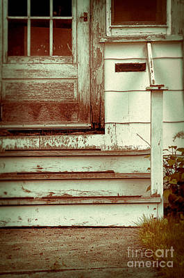 Photograph - Old Wooden Porch by Jill Battaglia