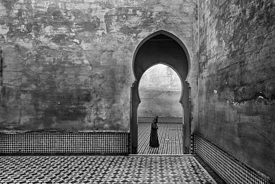 Shape Photograph - Old World by Ali Khataw