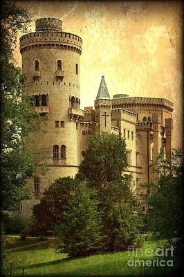 Antique Look Photograph - Old World Castle by Carol Groenen