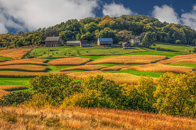Cornfield Photograph - Old-world Charm by Tom Weisbrook