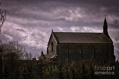 Old World Church Art Print