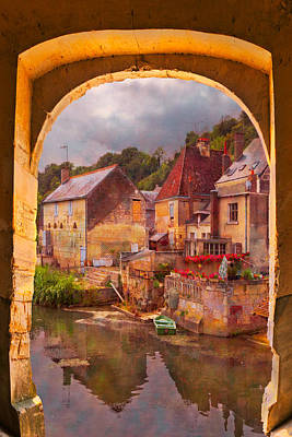 Chateau Photograph - Old World by Debra and Dave Vanderlaan
