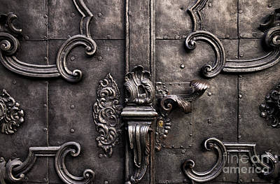 Photograph - Old World Door by John Rizzuto
