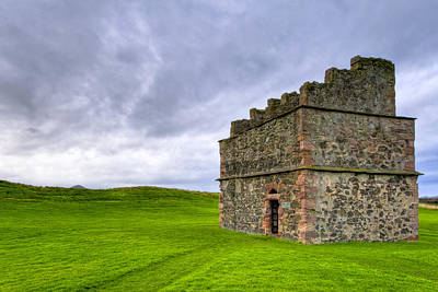 Photograph - Old World Dovecot At Tantallon Castle by Mark E Tisdale