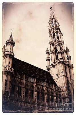 The Grand Place Photograph - Old World Grand Place by Carol Groenen