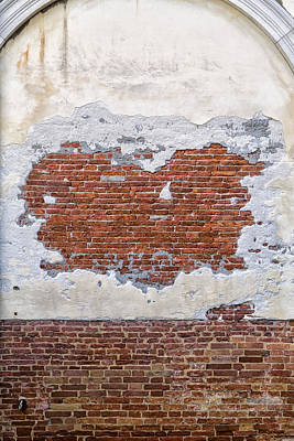 Old Worn Out Wall In Venice Art Print by Francesco Rizzato