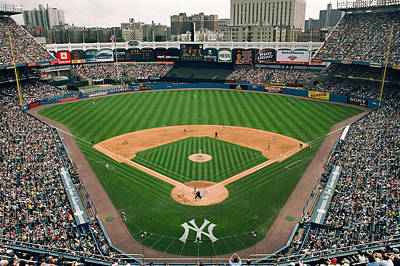Old Yankee Photograph - Old Yankee Stadium Photo by Horsch Gallery
