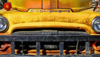Photograph - Old Yellow By Diana Sainz by Diana Raquel Sainz