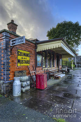 Photograph - Olde Station by Ian Mitchell