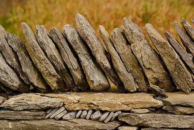 Photograph - Olde Wall by Joshua McCullough