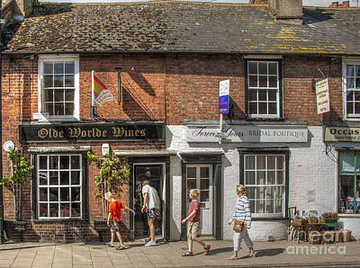 Port Town Digital Art - Olde Worlde Rye by Donald Davis