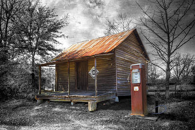Quaker Photograph - Olden Days by Debra and Dave Vanderlaan