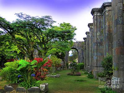 Oldest Church In Cartago - Costa Rica IIi Art Print