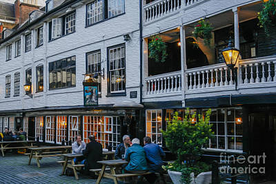 European City Digital Art - Oldest Coaching Inn In London by Patricia Hofmeester