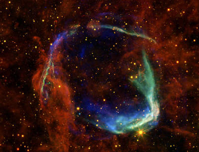 Stellar Photograph - Oldest Recorded Supernova by Adam Romanowicz