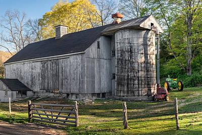 Connecticut Barns Photograph - Barnyard by Bill Wakeley