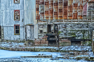 Old Feed Mills Photograph - Oldmill by Tamera James