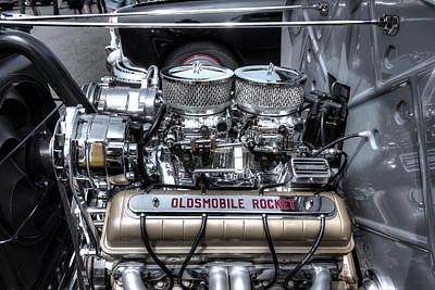 Photograph - Olds Rocket by Jorge Perez - BlueBeardImagery