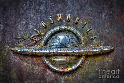 Photograph - Oldsmobile Emblem #1 by Ken Johnson