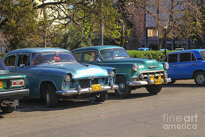 Photograph - Oldsmobiles by Patricia Hofmeester