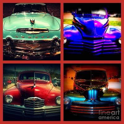 Car Auction Photograph - Oldtimer Collage by Susanne Van Hulst