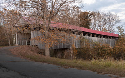 Music Royalty-Free and Rights-Managed Images - Oldtown Covered Bridge by Jack R Perry